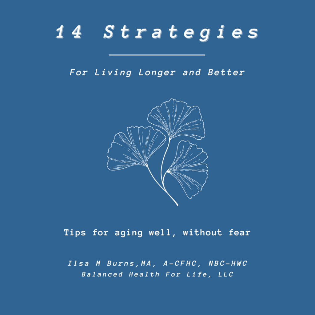 14 Strategies for Living Longer and Better ebook cover